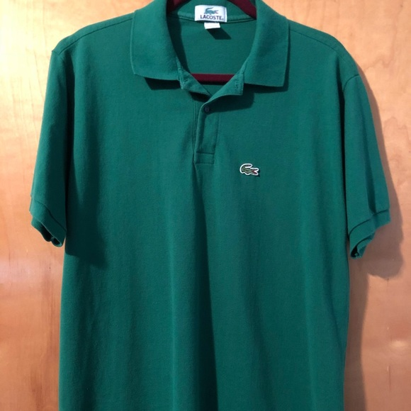 buying now in stock 2018 shoes Men's Lacoste Made in USA Vintage polo size large.